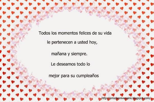Message joyeux anniversaire en espagnol