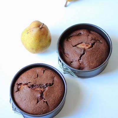 Illustration 2 Gâteau Poire-Chocolat