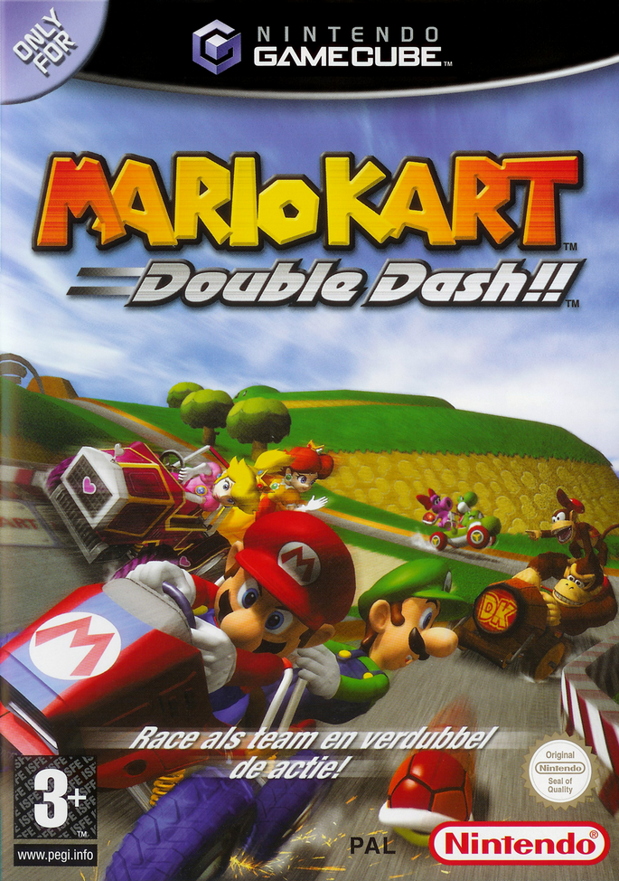 how to play mario kart double dash on dolphin