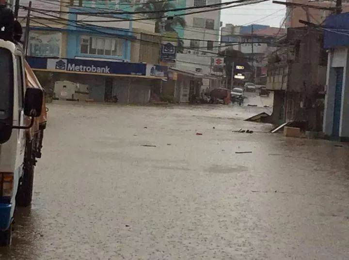 Flood in Bogo City Cebu