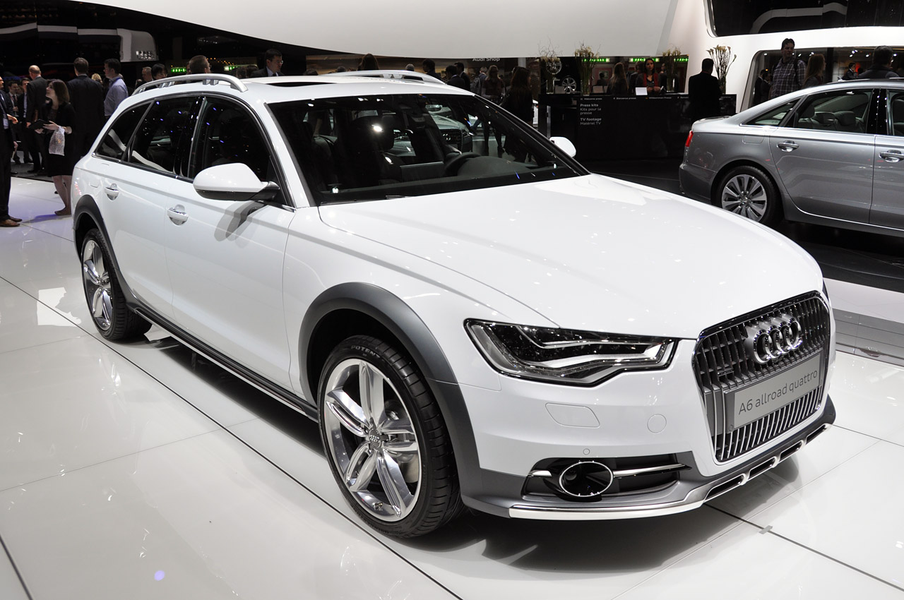 automotiveblogz geneva 2013 audi a6 allroad evolves the formula. Black Bedroom Furniture Sets. Home Design Ideas