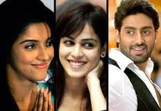 Asin, Genelia team up with Abhishek Bachchan