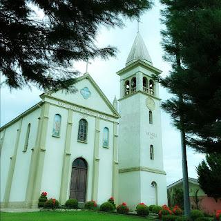 Igreja de Nova Veneza, no interior de Flores da Cunha
