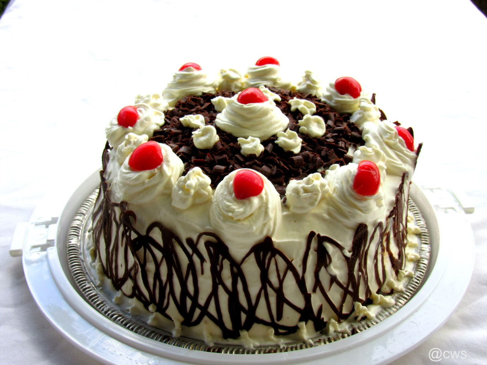 Eggless Black Forest Cake Cookingwithsapana