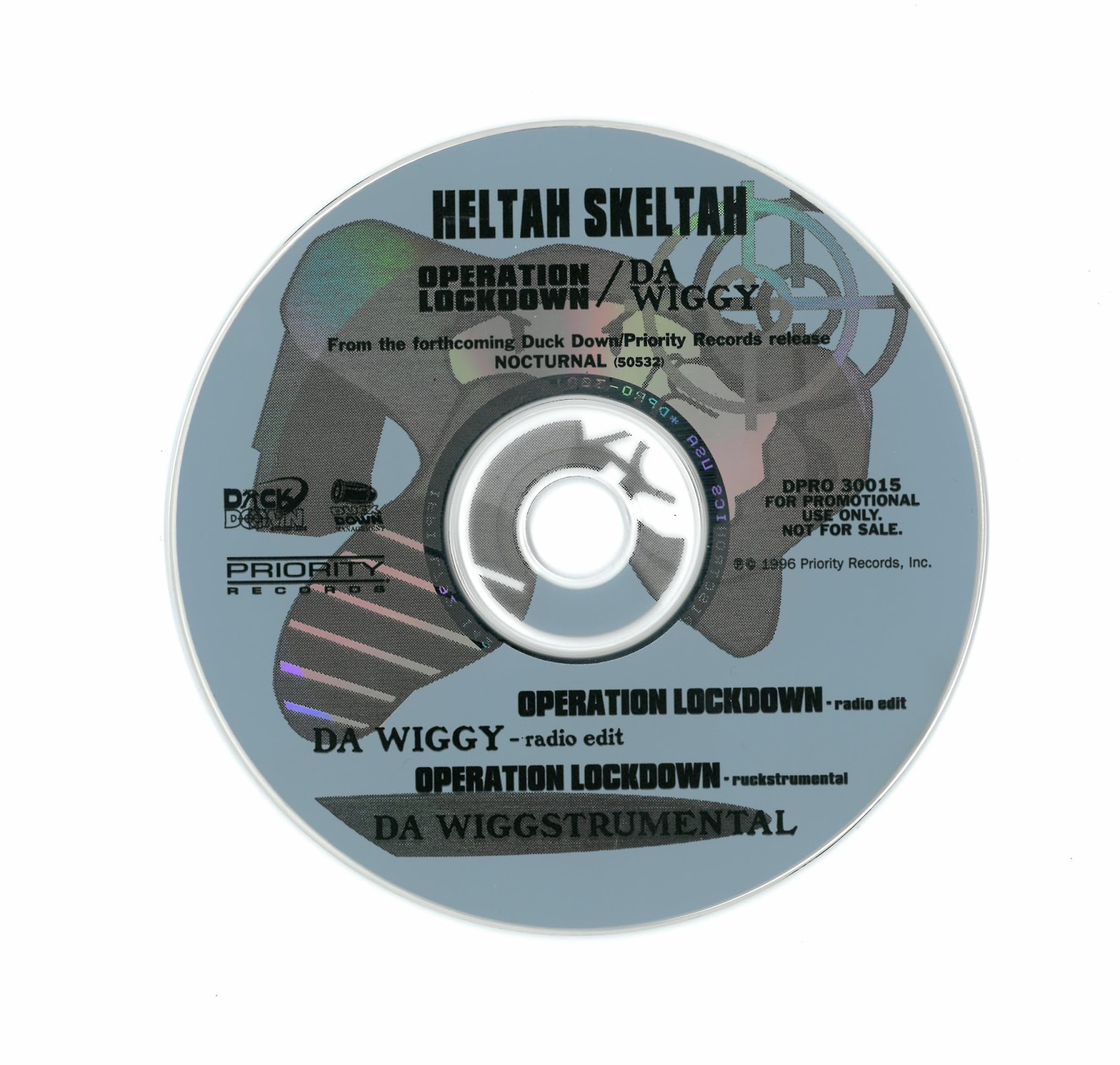 Heltah Skeltah – Operation Lockdown / Da Wiggy (Promo CDS) (1996) (320 kbps)
