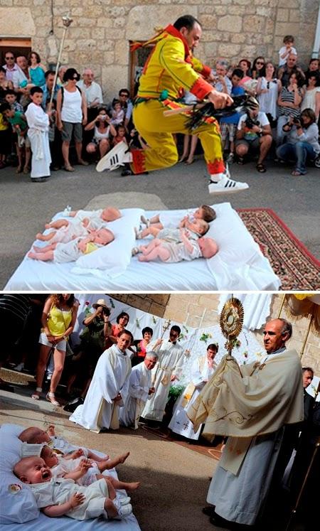 El Colacho: Baby Jumping (Spain)