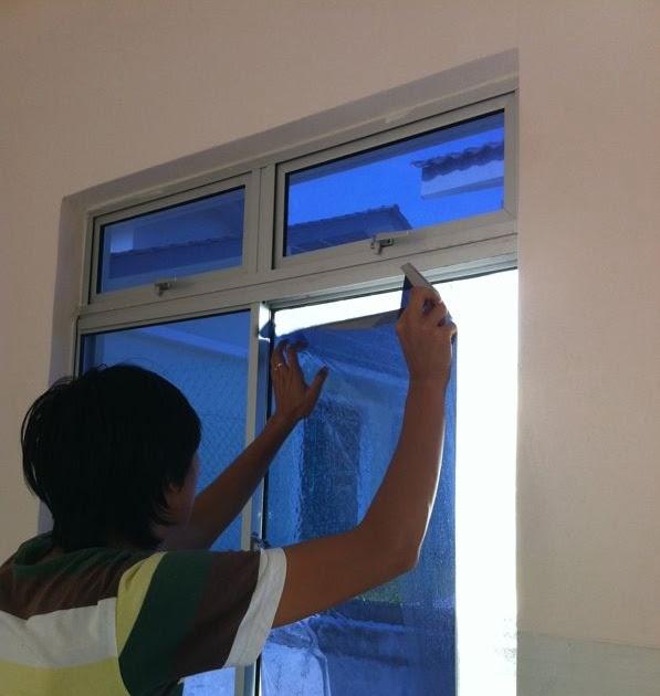 Aduhaisholihah: Misi Bermula: Tinted Rumah