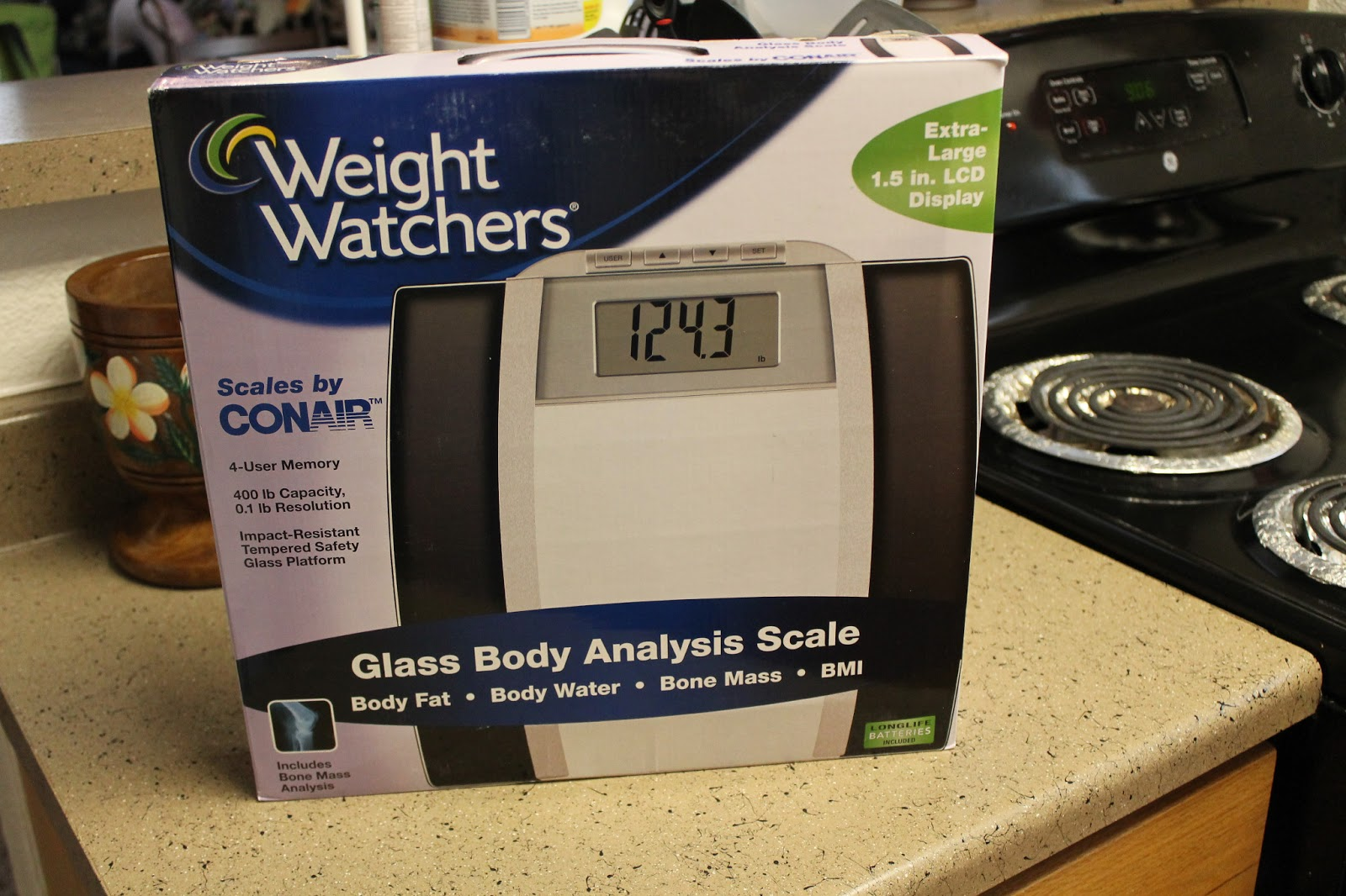 Weight Watchers By Conair Gl Body Ysis Scale Model Ww78