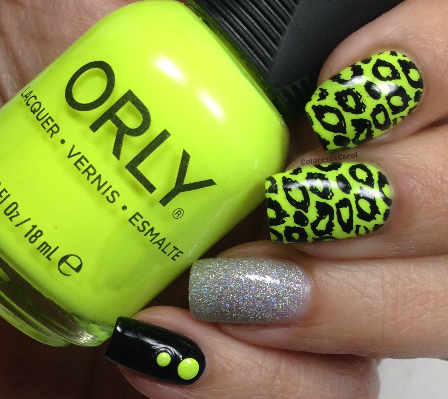 Colores de Carol: Orly - Glowstick