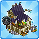 FarmVille Design Your own Haunted House Building