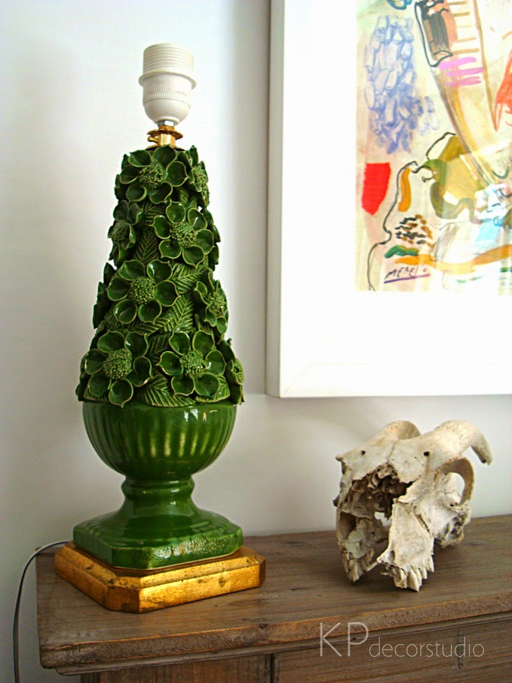 Venta de lámparas de cerámica de Manisses en valencia