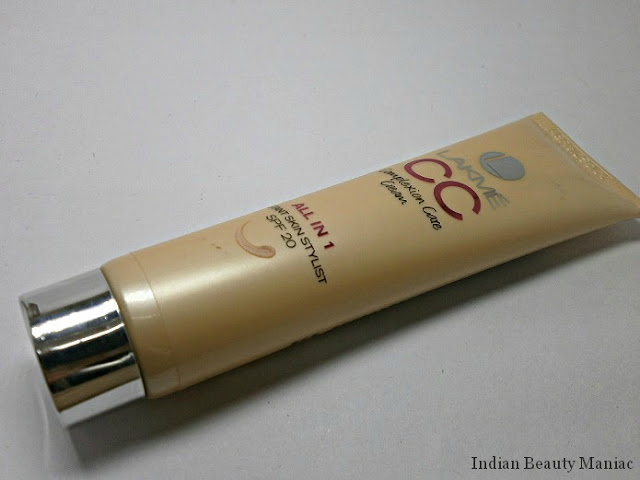 Lakme Complexion Care Cream All in 1 Instant Skin Stylist in Beige with SPF 20