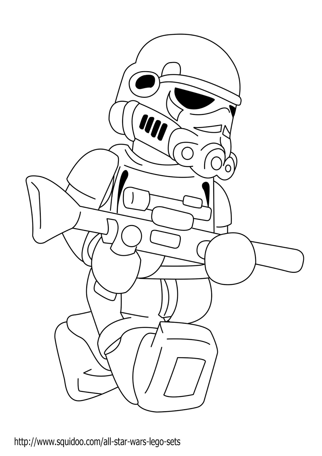Free Coloring Pages Of Star Wars Trooper Wars Lego Coloring Page