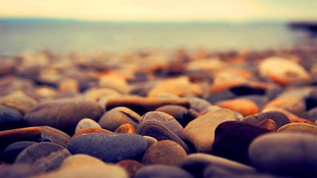 Beach Stones HD Wallpaper