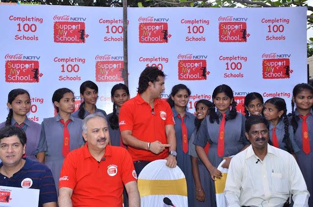 Coca-cola NDTV support My School campaign Season 2 Building a Happier Tomorrow