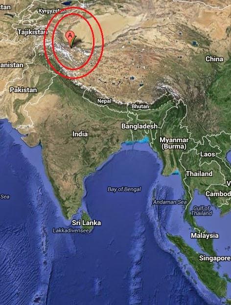 Magnitude 4.1 Earthquake of Thang, India 2014-10-21