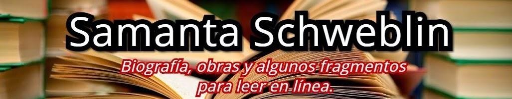Samanta Schweblin - Biografía, obras y libros