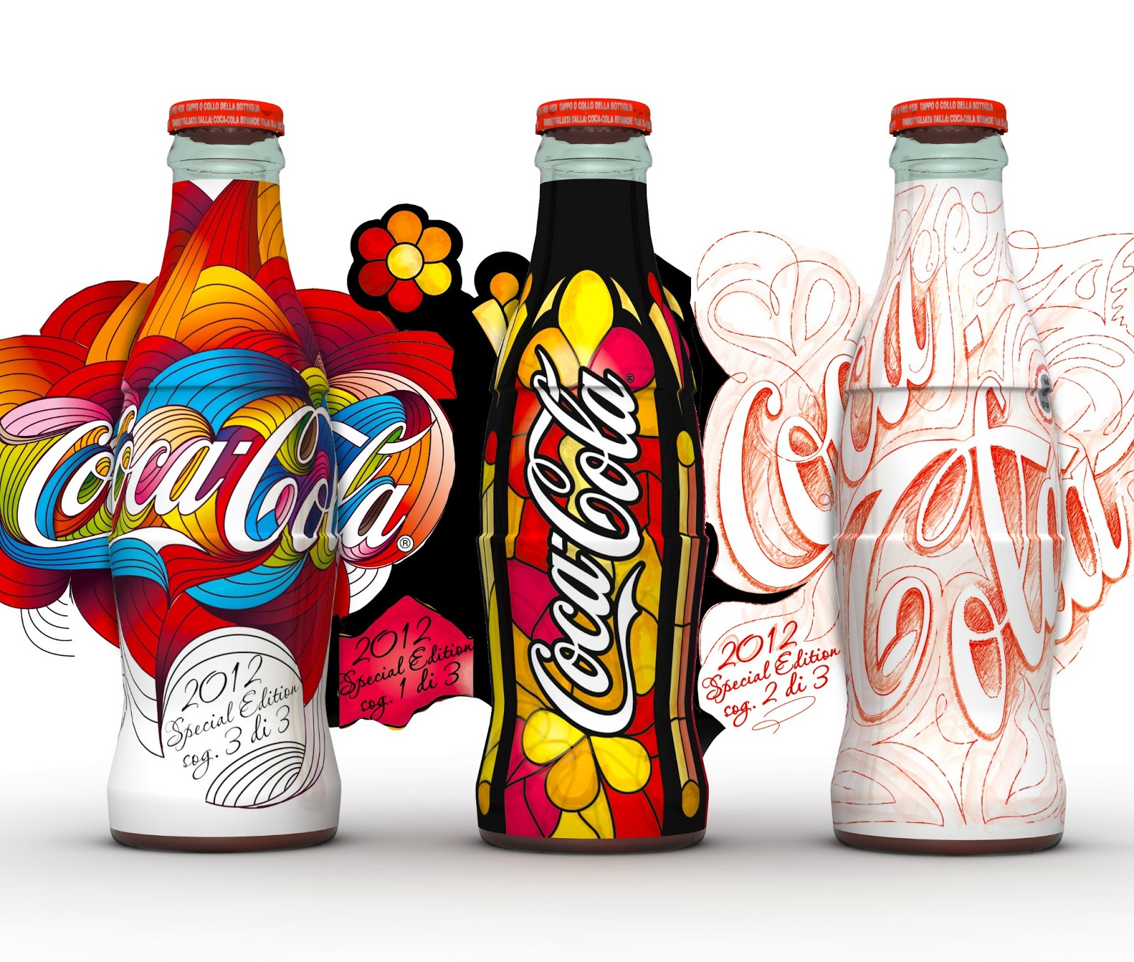 coca cola start again on packaging of the world creative