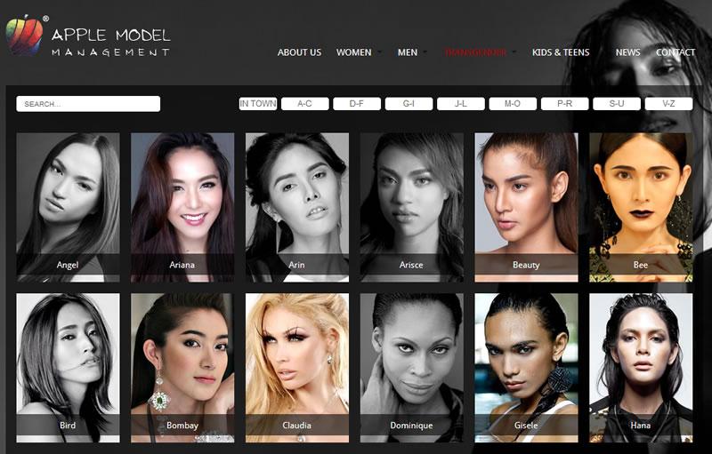 Apple Model Management - Agência tem casting apenas com modelos transexuais