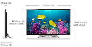 Harga dan Spesifikasi Samsung TV LED Seri 5 UA32F5500