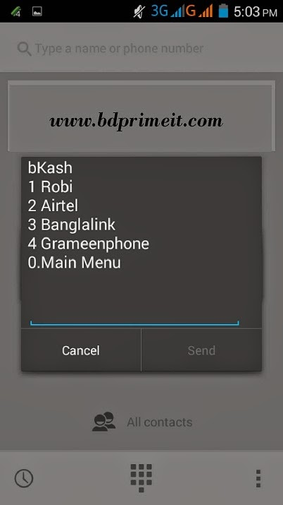 Recharge my mobile by bKash account