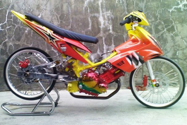 Modifikasi Yamaha Jupiter Z Simple dan Ramping