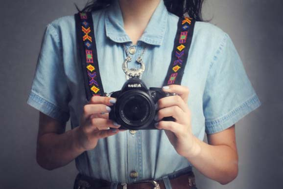 how to customize the camera strap tutorial
