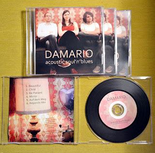 Damario - acoustic Soul'n'Blues - EP (2013)