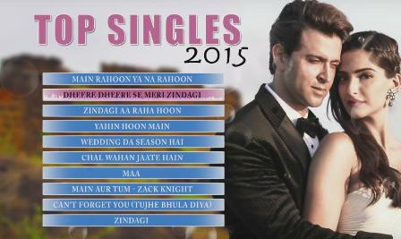 TOP 10 SONGS OF 2015 (Singles) | Non Stop AUDIO - All Movie Song Lyrics