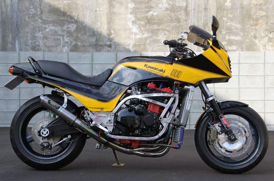 Kawasaki GPZ-R 900 et 750, 1000 RX, ZX 10 TOMCAT - Page 4 KAWASAKI-+works-sports-racing