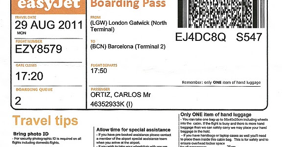 how to get a boarding pass with easyjet