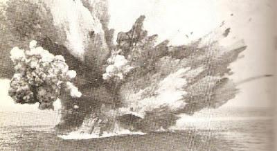 destrucción del acorazado Barham
