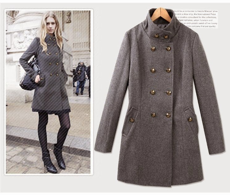 WOMAN WOOLEN COATS- FASHION WOOLEN COAT WINTER JACKETS OUTERWEAR