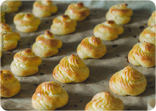 Pommes Duchesse ~ Herzoginnenkartoffeln