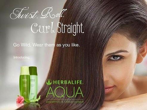 dầu gội và dầu xả Herbalife Aqua cho tóc