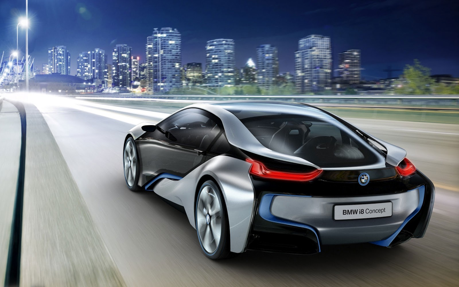 Bmw i8 Concept Car HD Wallpaper ~ HD Car Wallpapers