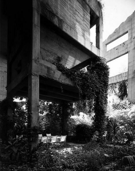 The analog almanac old concrete factory converted to modern castle home - Old cement factory turned home ...