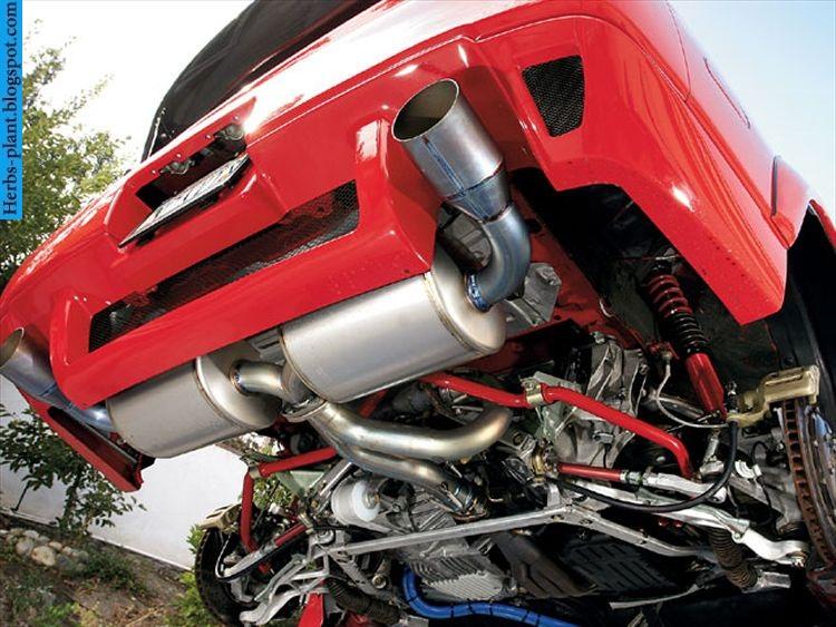 Acura nsx car 2013 exhaust - صور شكمان سيارة اكورا ان اس اكس 2013