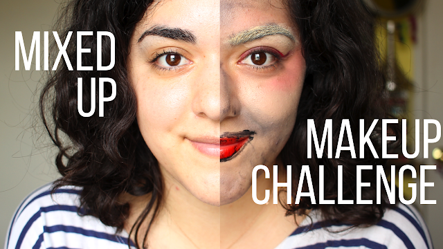 Mixed Up Makeup Challenge