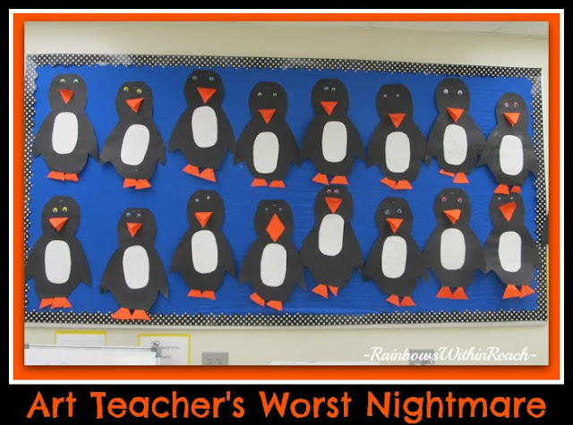 photo of: Penguins on Parade: Art Teacher's Worst Nightmare (cloned projects) via RainbowsWithinReach