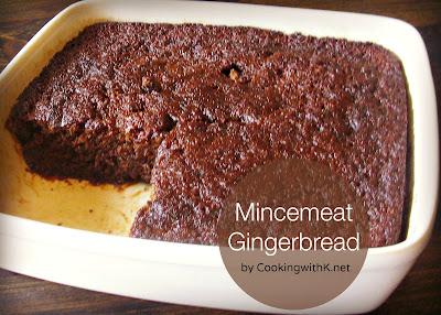 Mincemeat Gingerbread