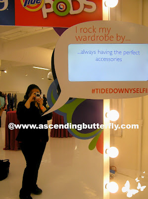 Tide, Downy, TideDownySelfie Photo Station during Getting Gorgeous 2013
