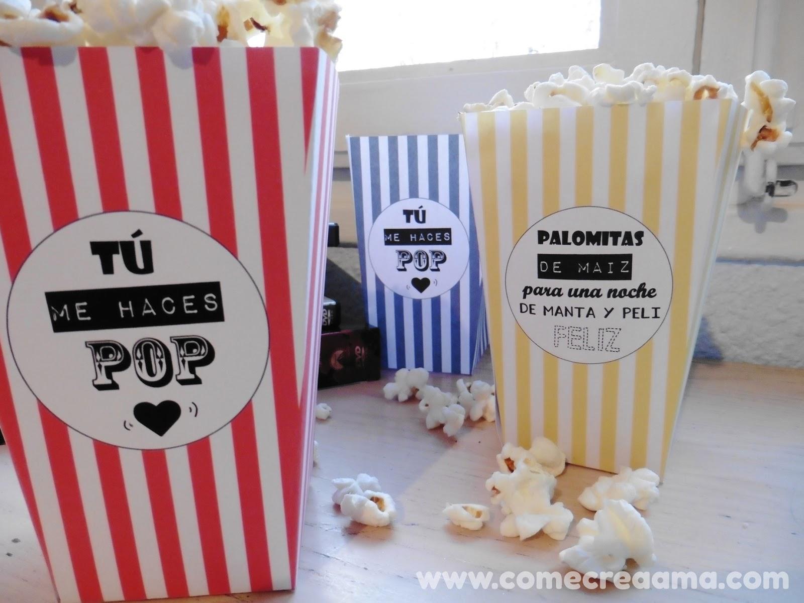 cajas para popcorn