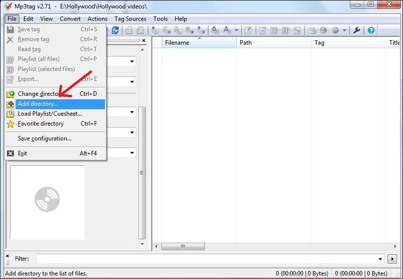 как добавить картинку в mp3 файл
