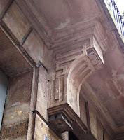 Console du balcon 20 rue de Saintonge à Paris