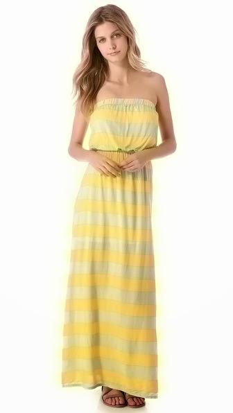 Magnolia Stripe Maxi Dress