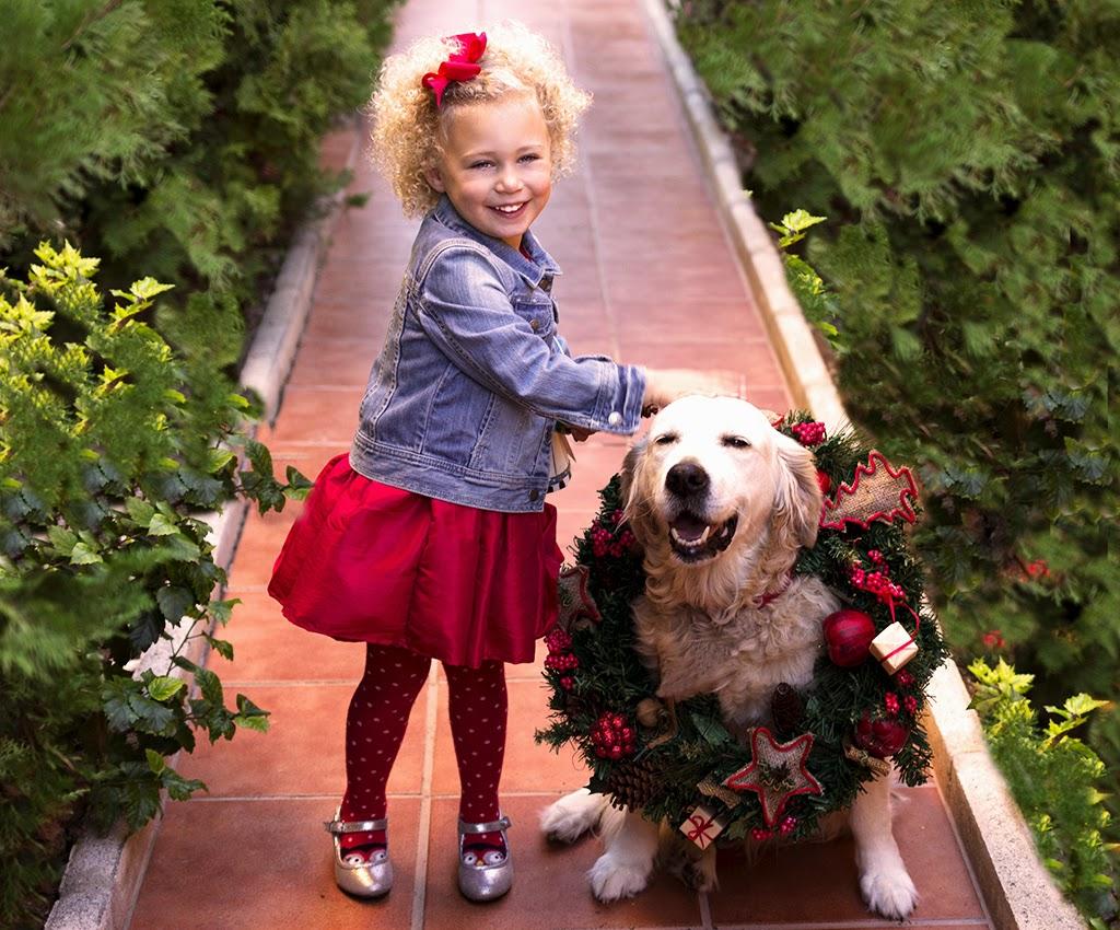 Sesión fotografía niños navideña Torremolinos