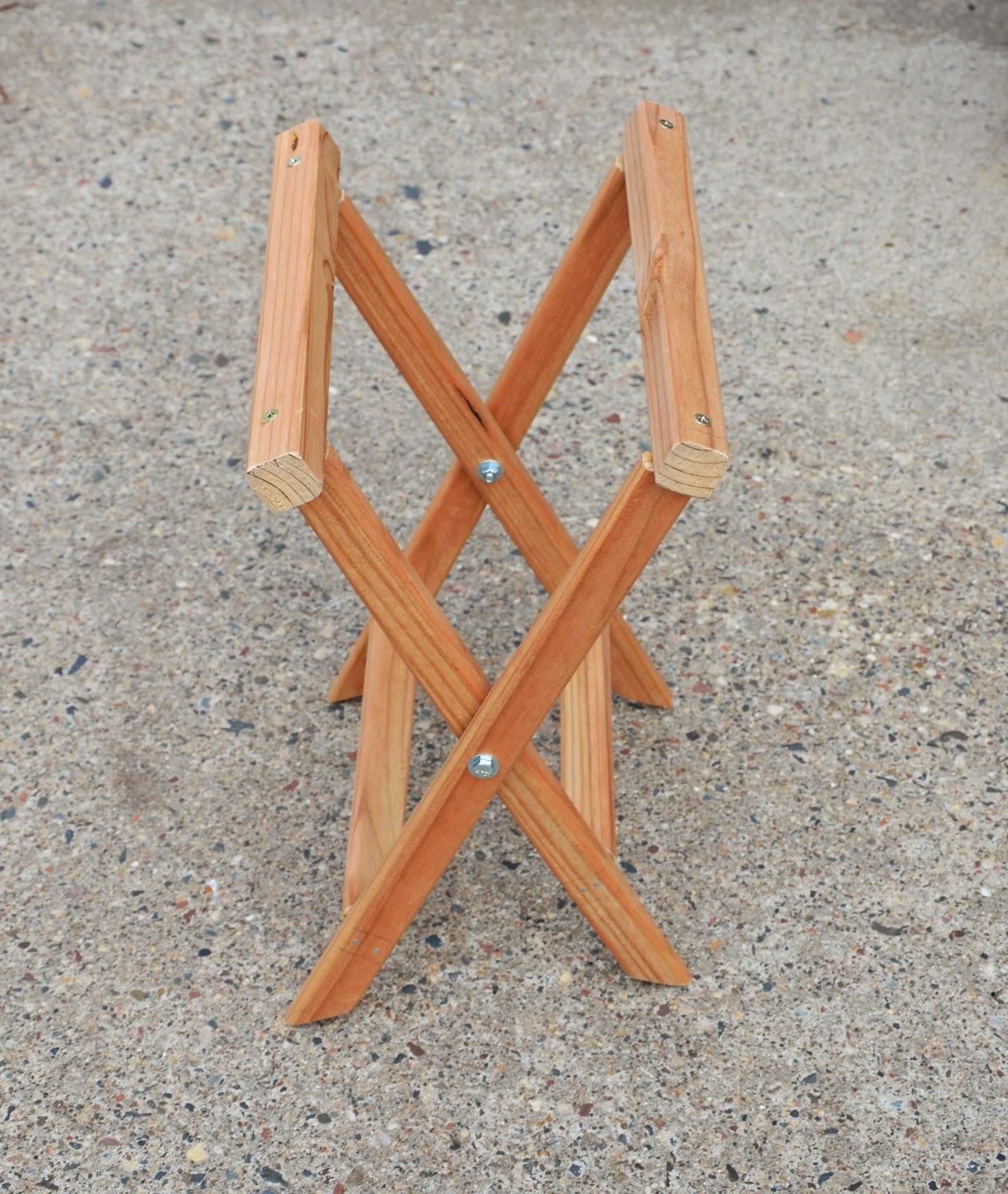 Раскладной стул для пикника своими руками