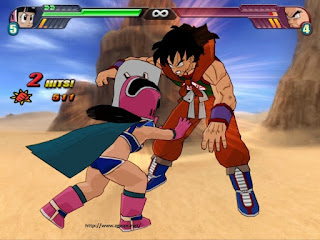 Free Download Game DragonBall Z Budokai Tenkaichi 2 PS2 ISO Full Version ZGASPC