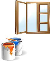 Окраска деревянных окон